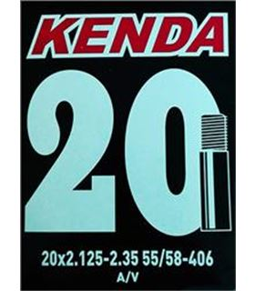 CAMARA 20X2.125/2.35 KENDA VALVULA GORDA