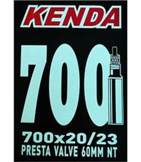 CAMARA 700X23C KENDA VALVULA 60MM
