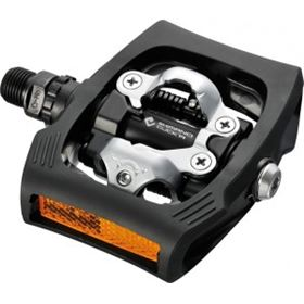 PEDALES SHIMANO T400 CLICKR NEGRO