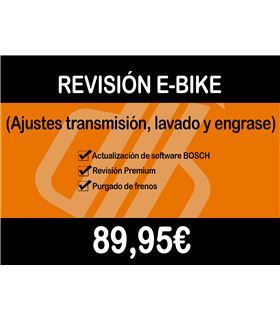 TALLER - RE5 / REVISION E-BIKE