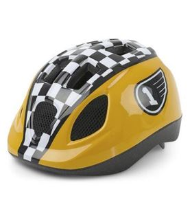CASCO KID XS 46-53CM CARRERAS AMARILLO
