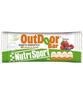 NUTRISPORT BARRITA OUTDOOR RED BERRIES