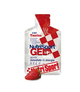 NUTRISPORT GEL FRESA CON TAURINA 40G