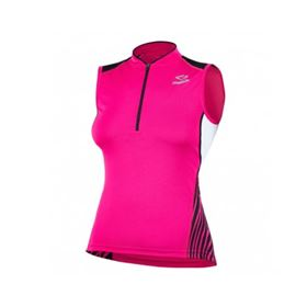 MAILLOT SPIUK S/M RACE MUJER ROSA/BLANCO TL