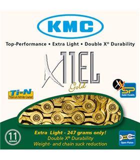 CADENA 11V. KMC X11EL GOLD