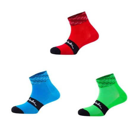 CALCETINES SPIUK ANATOMIC MEDIO PACK 3 AZUL/VERDE/ROJO