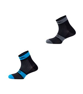 CALCETINES SPIUK XP MEDIO PACK 2 AZUL/NEGRO