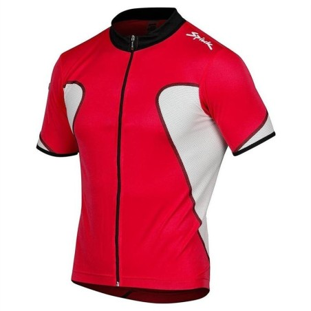 MAILLOT SPIUK M/C FACTORY BLANCO/NEGRO/ROJO XL
