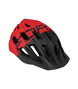 CASCO FORCE CORELLA NEGRO/ROJO M