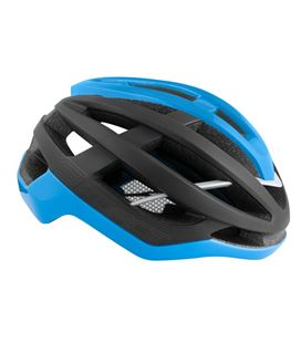 CASCO FORCE LYNX NEGRO/AZUL M